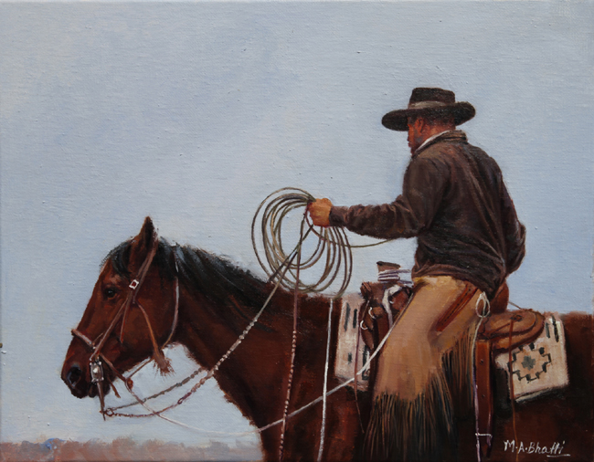 Day at the Ranch | Oil on Canvas | 11 x 14
